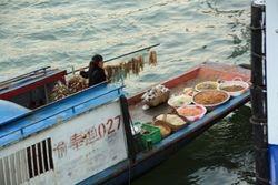 Supply boat on Yangtzee River