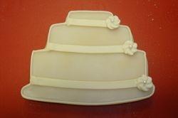 wedding cake $4 ea