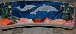 $495 Marine Life Bench