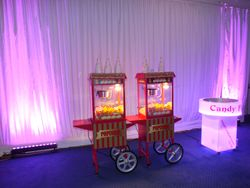 centenary pavillion leeds popcorn and candy floss hire serving 400 guests