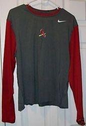 Albert Pujols 2009 Game Used Nike Dri Fit Shirt