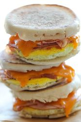Freezer Egg Sandwiches