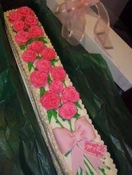 Sweet 16 Birthday Cake Roses