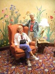 Nancy & Carol in Broadmoor Hotel