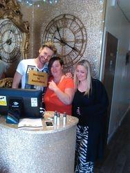 Jordan Adams, Dee Kelly, Louise Fitzpatrick at Aesthetica Clinic