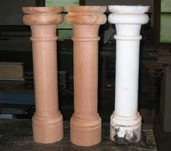 large diameter balusters