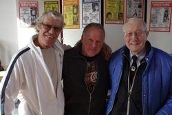 Mal Mason, Bob Barratt, Peter Baines