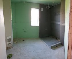 salle de bain en rénovation