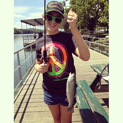 Analise with a nice Trout