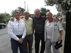 Mark Rocco, Jackie Turpin, Tony Walsh, Johnny England