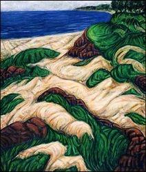 """""""Shoreline Dunes   P.E.I.""""         48""""x 40"""""""