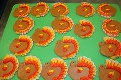 turkey cookies $5/each