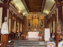 Altar Iglesia San NIcolas Obispo