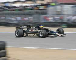 Mario Andretti's 1978 Lotus 79