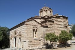 Renovated to some degree. One of the churches in Ancient Agros