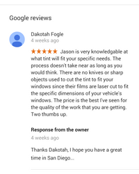 More Reviews