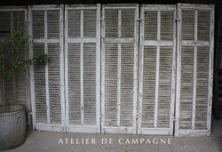#24/233 French Shutters 8 Pair