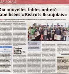 Label Bistrot Beaujolais