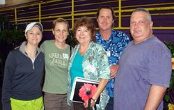 Angie, Jennie, Dottie, Bill and Danny from Baton Rouge