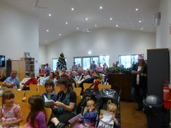 The Christmas audience