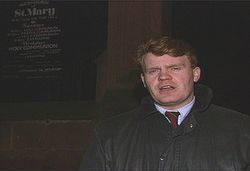 An early GMTV picture, covering the James Bulger murder case in Liverpool