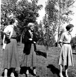 Effie Benfield Lowman; Christina Elizabeth Baker Benfield; Ila Benfield Herman