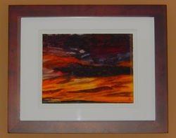 Fiery Sunrise, $125