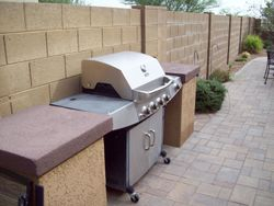Grill/BBQ area