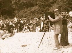 Badlif vid Kullen 1909