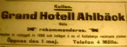 Grand Hotell Ahlbeck 1909
