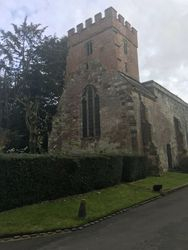 The Small Church in the grounds of Wroxall