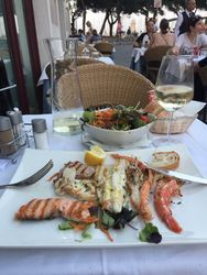 Italian Seafood, Desenzano, Lake Garda, Italy, 2019.
