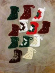 Dozen Christmas Ornaments - Set 8