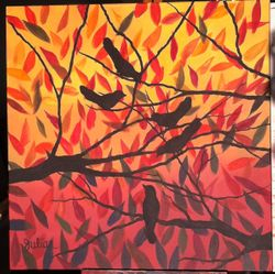 Birds in Foliage