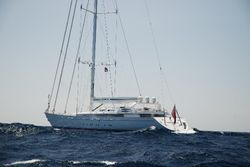 Mirabella V - the largest single-masted yacht in the world!