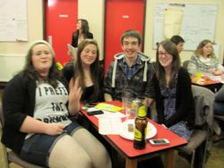 Georgina, Emily, Rob and Hannah