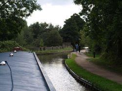 Approaching aquaduct