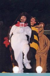 Showtime!, Butchart Gardens, Summer 2000