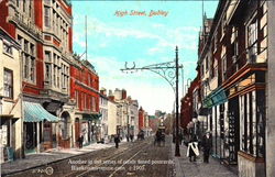 Dudley High Street. c early1900s.