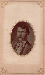 one ninth plate tintype cdv sealed in its original paper sleeve