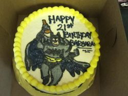 Beer Batman Birthday