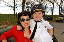 Christine Betty & Jordan (her son)