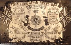 Worcestershire Regiment. 1919.