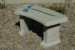 Custom bench for A dogs life dog kennels