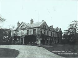 Hamstead Hall. c1897.