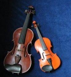 Bastien #40 and Zane's baby viola