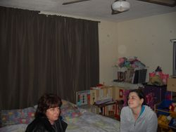 Lexi and Wendy doing an EVP session