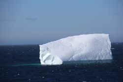 Iceberg from ferry to Labrador