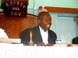 The Late Rev M Maikolo of Highfields Congregation