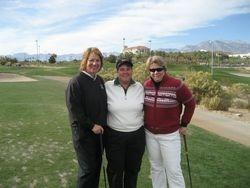 Christmas Party 12/5/09- Connie, Lynn, & Kelly @ Angel Park Cloud 9